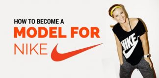 how become model for nike