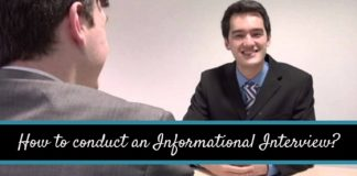 how conduct informational interview