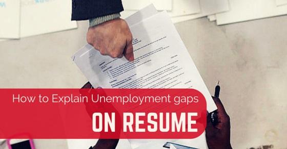 how explain unemployment gaps