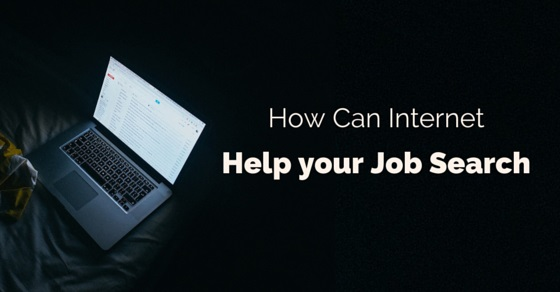 how internet help job search