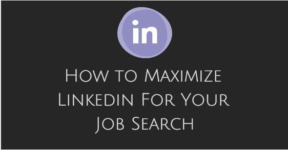 how maximize linkedin job search