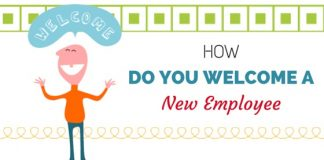 how welcome new employee