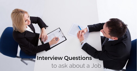 inteview questions about job