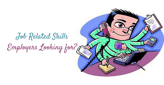 job related skills employers look for