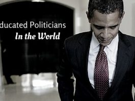 most educated politicians world