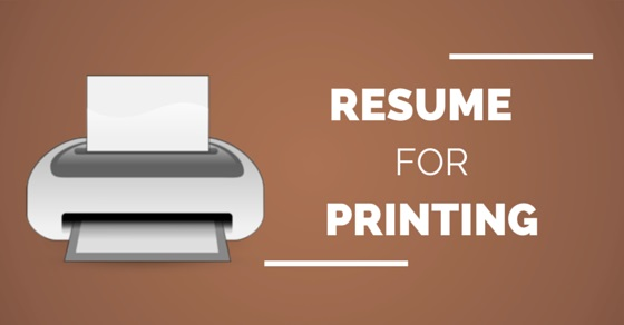 resume for printing best paper type size color and weight