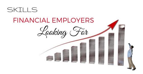 skills finance employers looking