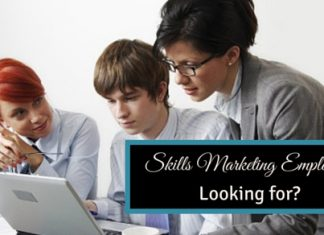 skills marketing employers looking for