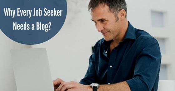 why job seeker needs blog