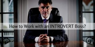 work with introvert boss