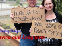 Job Hunting Strategies Short Long Term