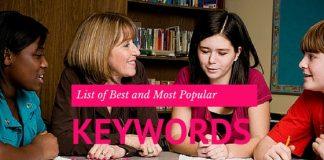 Job Search Keywords List