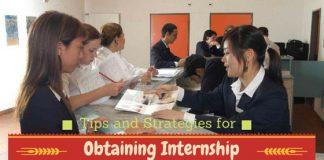 Obtaining Internship Strategies Tips