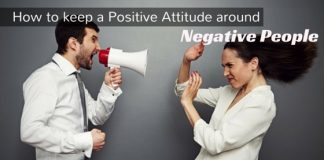 Positive Attitude around Negative People
