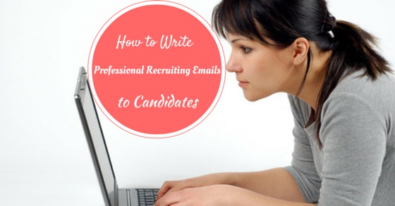 Write Emails to Candidates