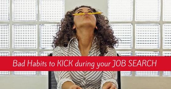 bad job search habits