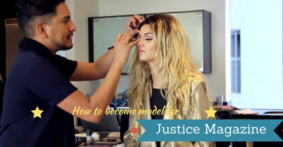 become justice magazine model