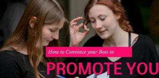 convince boss promote you