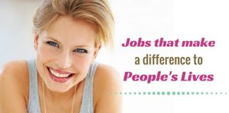 difference to people's lives jobs