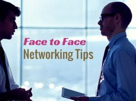 face to face networking