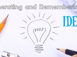 generating and remembering ideas