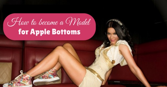 how become apple bottom model