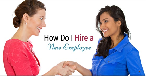 how hire new employee