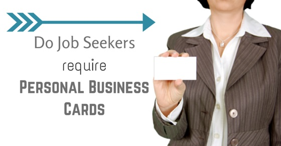 job seekers business cards