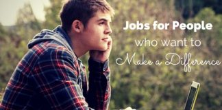 jobs for making difference