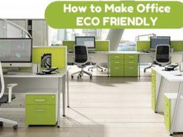 make office eco friendly
