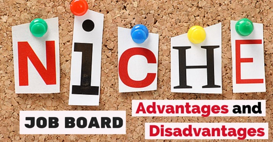 niche job board advantages