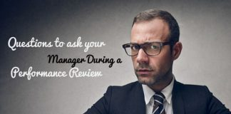 performance review questions manager