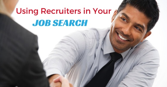 using recruiters in job search