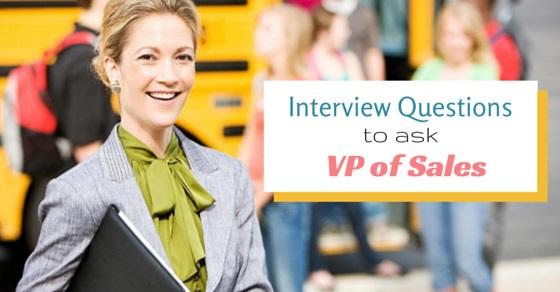 vp sales interview questions
