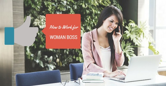 working for woman boss
