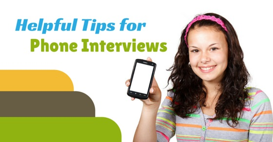 Helpful Tips Phone Interviews
