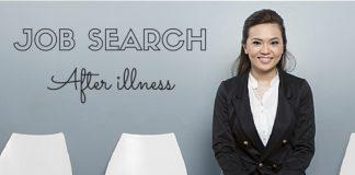 Job Search after illness