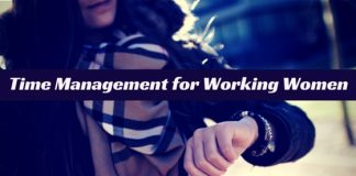Time Management working women