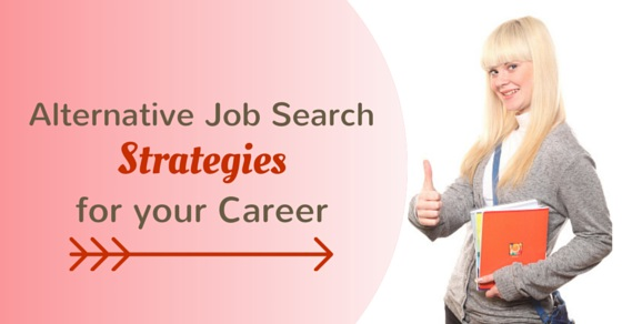 alternative job search strategies