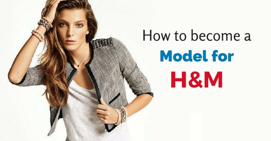 become model for h&m