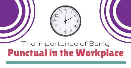 being punctual in workplace