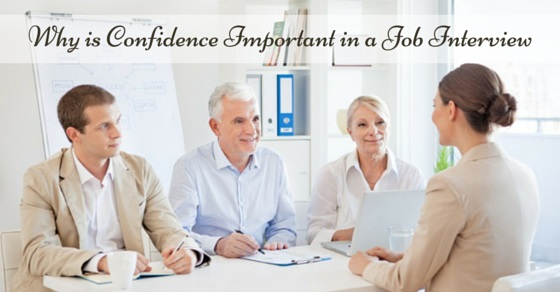 confidence important in job interview