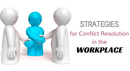 conflict resolution strategies workplace