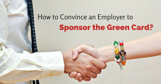 convince employer green card