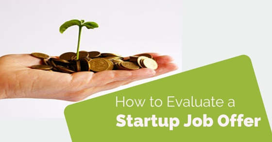 evaluate startup job offer