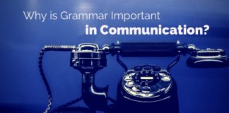 grammar important in communication
