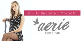 how become aerie model