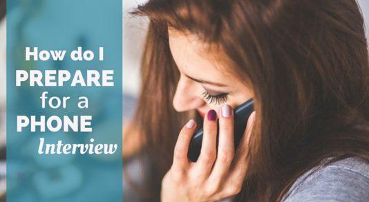 how prepare phone interview
