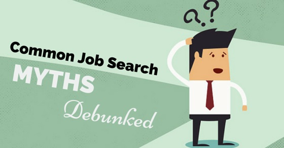 job search myths debunked
