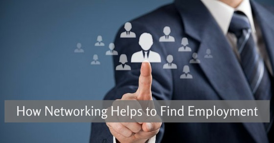 networking helps find employment